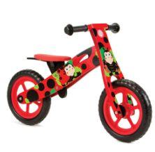 New Ladybird Wooden Balance Bike