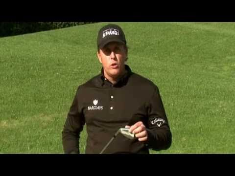 Phil Mickelson - How to hit out of a fairway bunker.