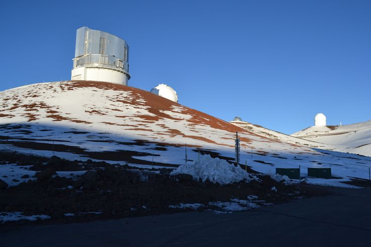 The first of the 13 observatories on the summit of Mauna Kea.