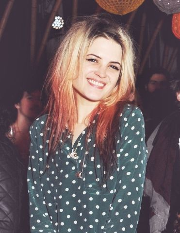 Alison Mosshart veste camisa Equipment.