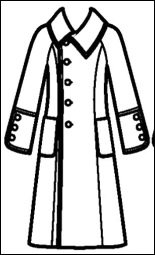 lab coat coloring pages - photo #18