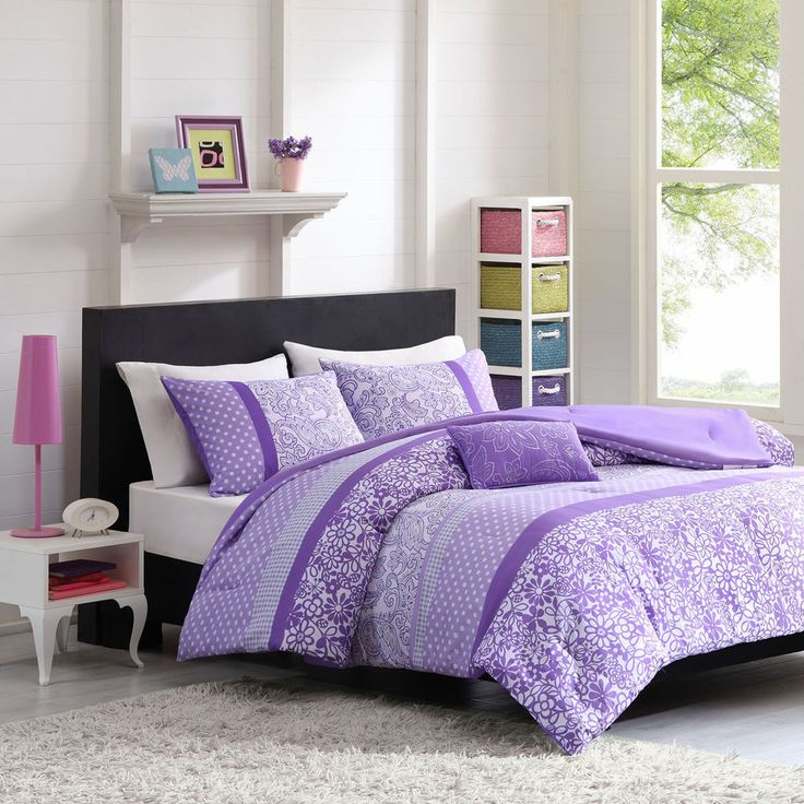 Bedroom Sets For Girls Purple