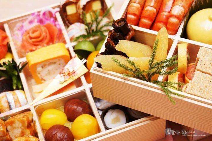 Japanese osechi for the New Year! 御節 #japankuru #osechi #newyear #bento #traditional #japan #御節 #お正月 #弁当 #日本