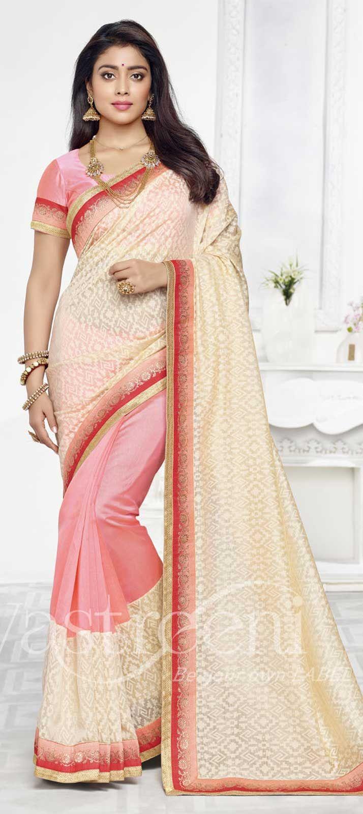 Jyothika traditional sari at shobi wedding saree blouse patterns - Pink And Majenta Color Family Bollywood Sarees