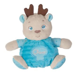 Mini Peluche Soft Cuddles Rena Azul   Brinquedos   Site oficial chicco.pt