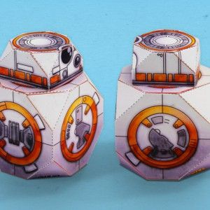 Download Star Wars BB-8 Droid Paper Model