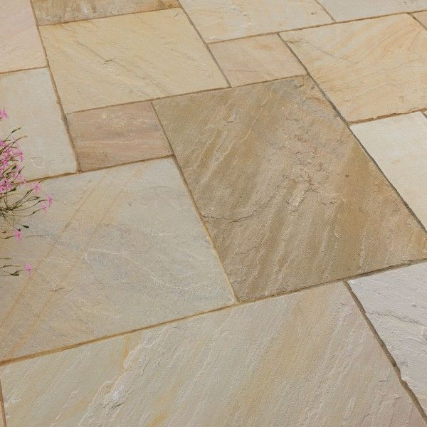 Pavestone Paving-Riven Sandstone-Golden Fossil-PAVING SLABS