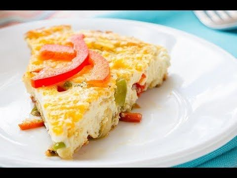 Recipe: Skinny Pepper and Onion Frittata