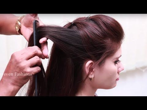 3 Easy Puff Hairstyles | How to Make Front Puff Hairstyle | Quick Puff Hair Tutorials - YouTube