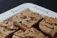 Old-Fashioned Hermit Cookie Bars