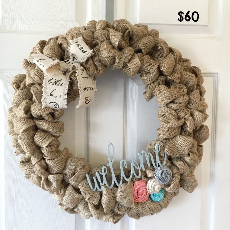 how to make a ribbon wreath on wire frame