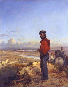 Garibaldi at Sant'Angelo 1862 Gerolamo Induno