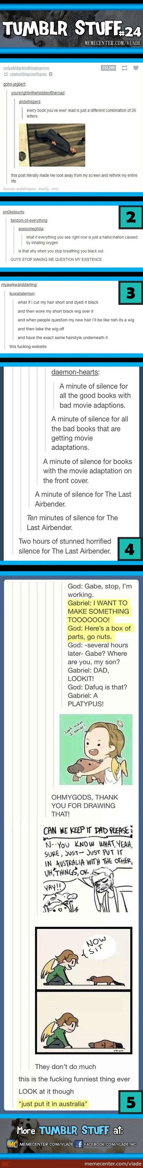 Haha all this. But seriously, I think I passed time limit of the 2 hours of shocked silence for the last air bender