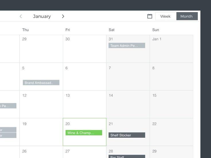 Best 25+ Calendar ui ideas on Pinterest Calendar app, Calender - event calendar