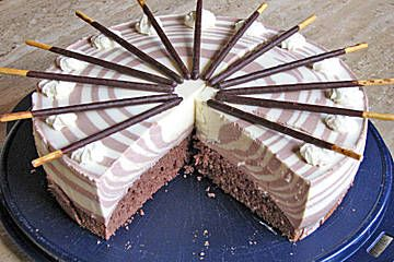 Zebra - Torte