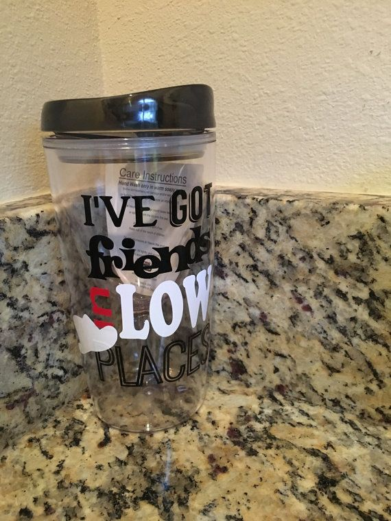 Tervis Garth Brooks Song Lyrics Tumbler by PutMyNameOnIt on Etsy