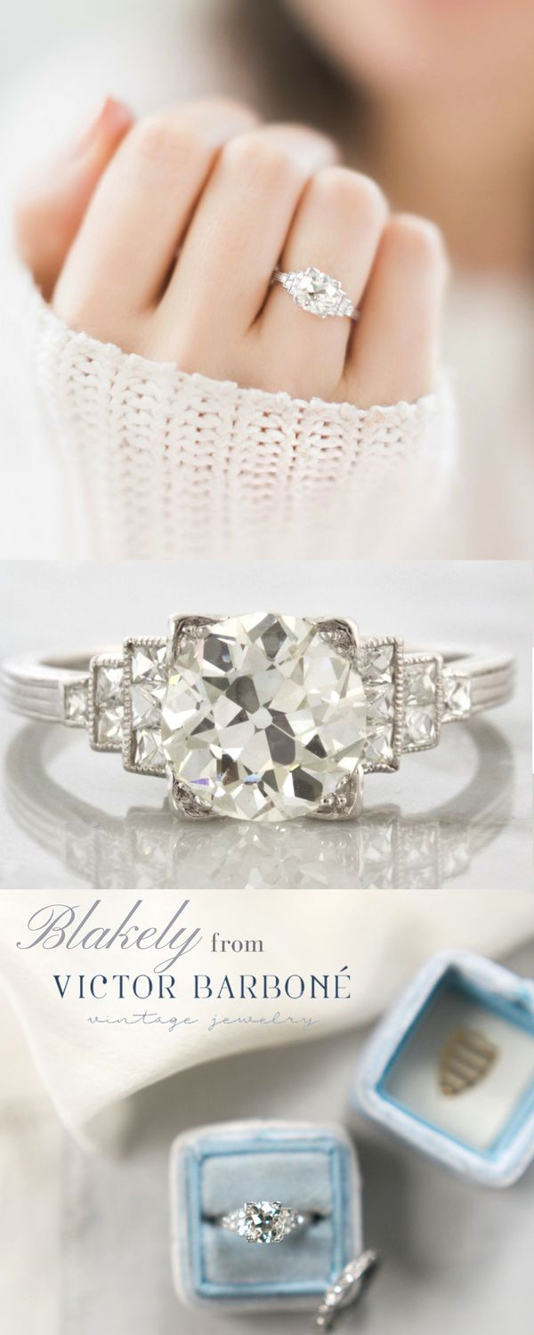 style french pin ascot engagement by pear ring diamond shape delicate rings set finest all