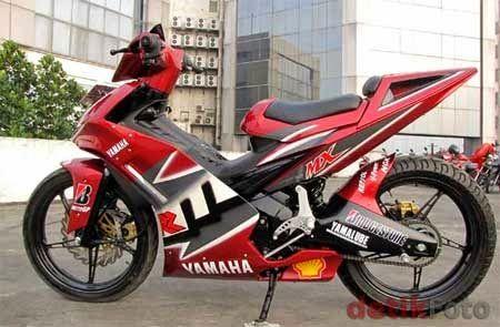 Custom yamaha Jupiter MX 135