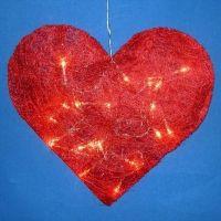 Herzlampe Zum Valentinstag Selber Machen: Geschenk Basteln Mit Lichterkette  Http://www.