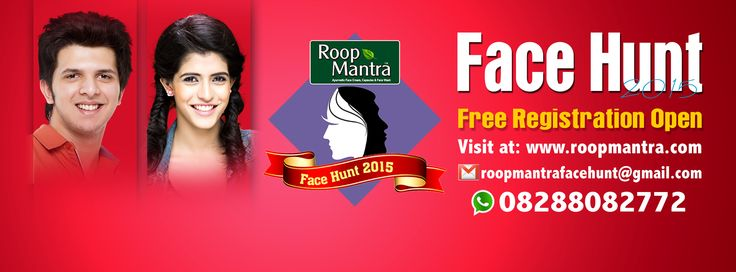 Don't miss this opportunity #RoopmantraFaceHunt 2015 Register Here: http://bit.ly/1P7rhN5  *Terms & Conditions Apply