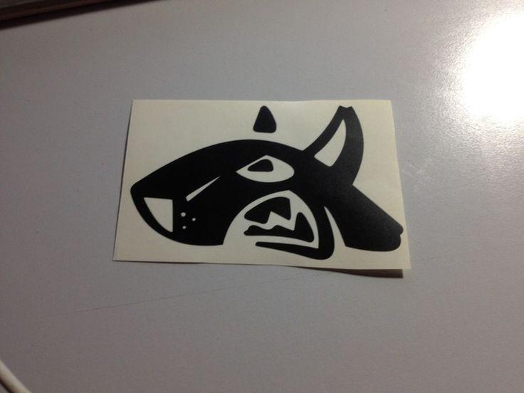 Adesivo Sticker DOG di impronte creative shop su DaWanda.com