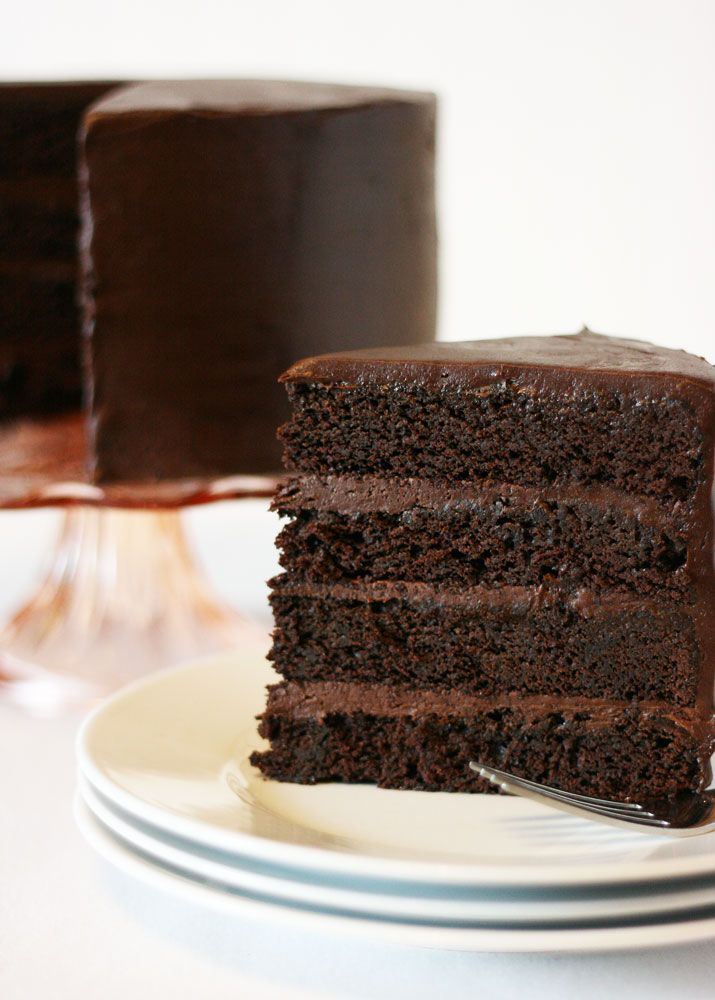 Rich Moist Chocolate Mud Cake Recipe