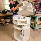 Image result for lazy susan shoe rack diy                                                                                                                                                                                 More