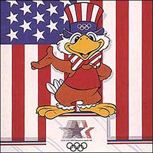 Olympic mascots through the years: The good, the bad and the just plain weird - 1984 Los Angeles -- Sam The Eagle