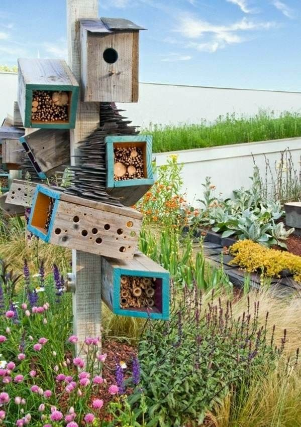 Kinder Gartenmobel Polyrattan : Bastelideen  Build bird house itself  DIY instructions and 40 ideas