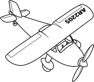 Un petit avion.