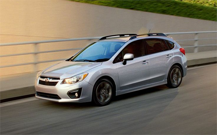 2014 subaru impreza hatchback real world mpg