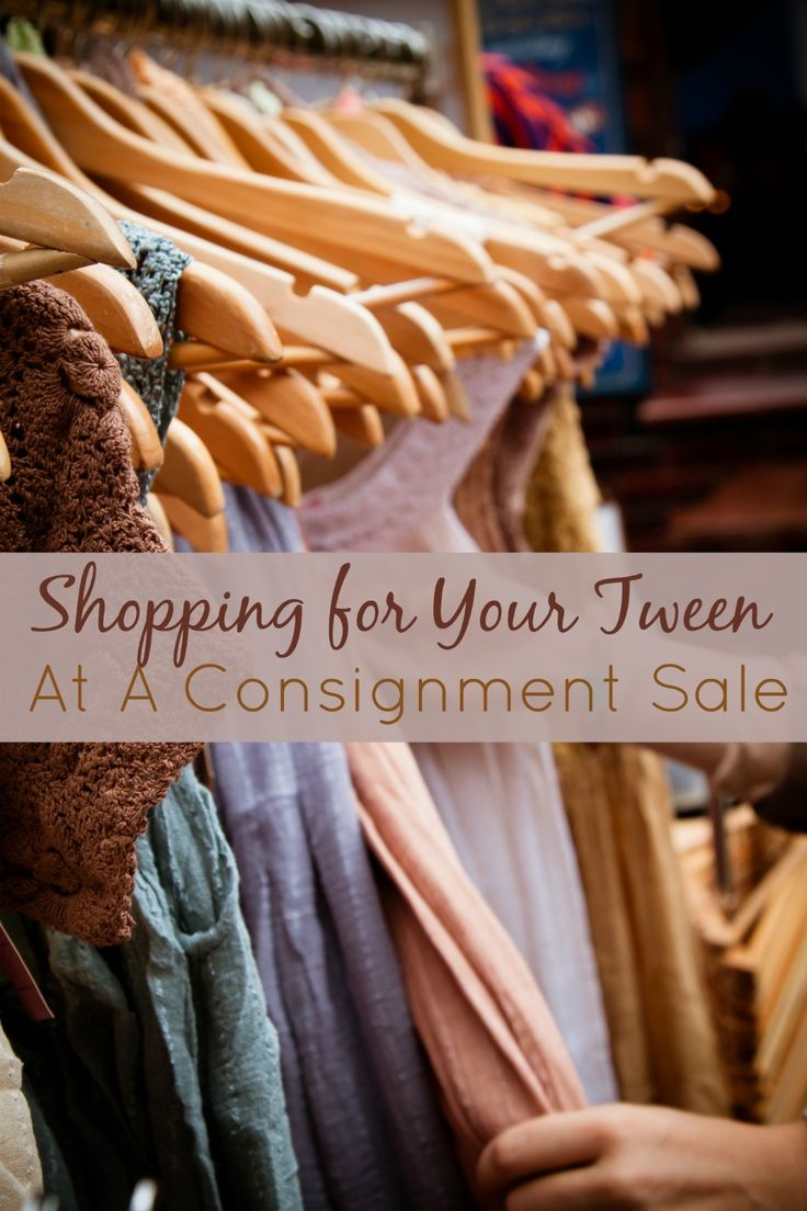 I've discovered that shopping for your teen at a consignment sale is the BEST place to get their clothing. Great deals and a huge variety that accommodates all their little preferences (you feel me, moms) make it a total win. Here's how we rock these sales.