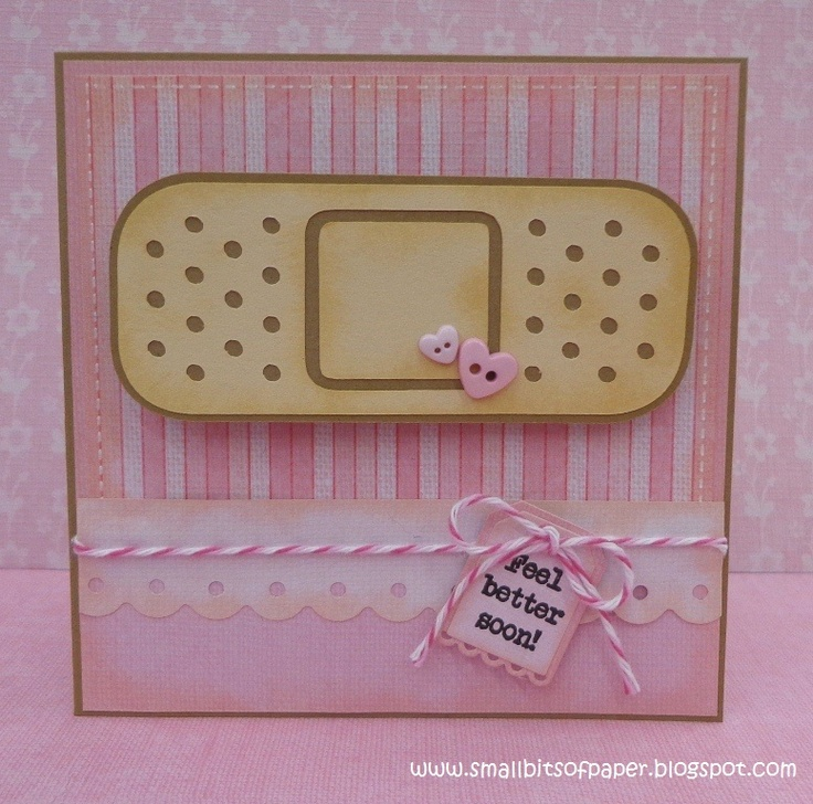 Card Making Ideas For Get Well Cards Part - 31: My Craft Spot: DT Post By Kate - Feel Better Soon!