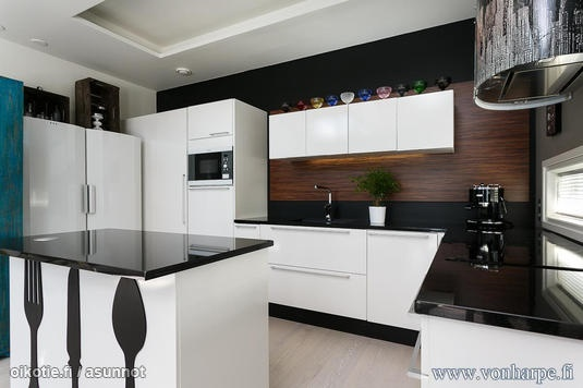 1000+ images about Keittiö  Kitchen on Pinterest  Country kitchen cabinets,