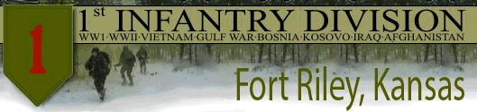 Fort Riley, Kansas- home of the 1st Infantry Division  http://www.1id.army.mil/