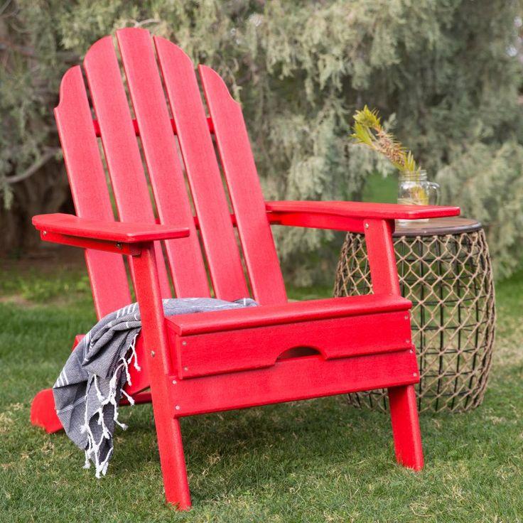 Outdoor Belham Living Belmore Recycled Plastic Folding Adirondack Chair  HZXMFC38 TEAKThe 25 Best Folding Adirondack Chair Ideas On Pinterest