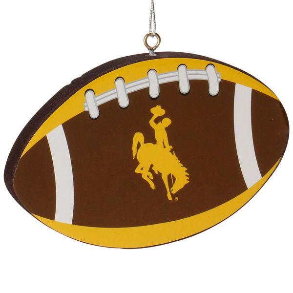 Wyoming Cowboys Football Ornament - $2.99