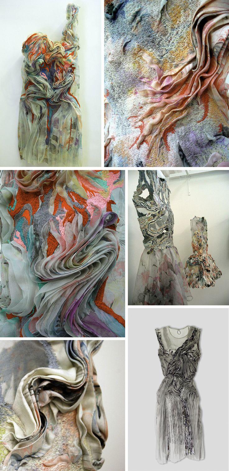 Marit Fujiwara e sua obra de arte vestível | Olho Mágico