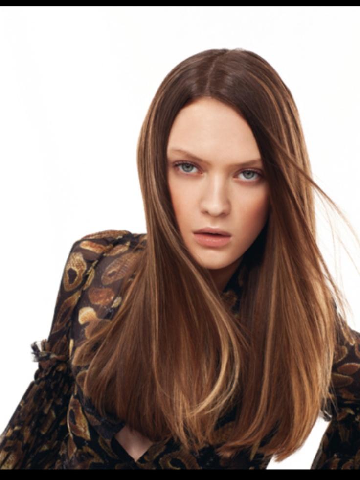 17 best images about langhaar frisuren on pinterest her - Langhaar bob ...