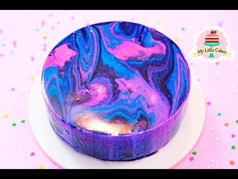 How to Make a Mirror Cake (Mirror Glaze Cake) from Cookies Cupcakes and Cardio - YouTube