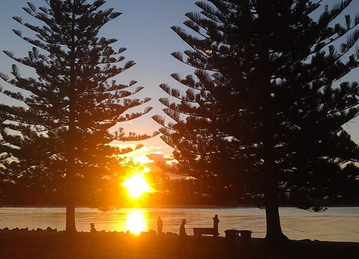 Sunset in Port Macquarie, Australia - 15 Aussie Experiences: http://www.ytravelblog.com/australia-experiences-off-beaten-path/