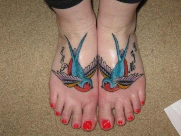 Tatuajes de Gorriones 2