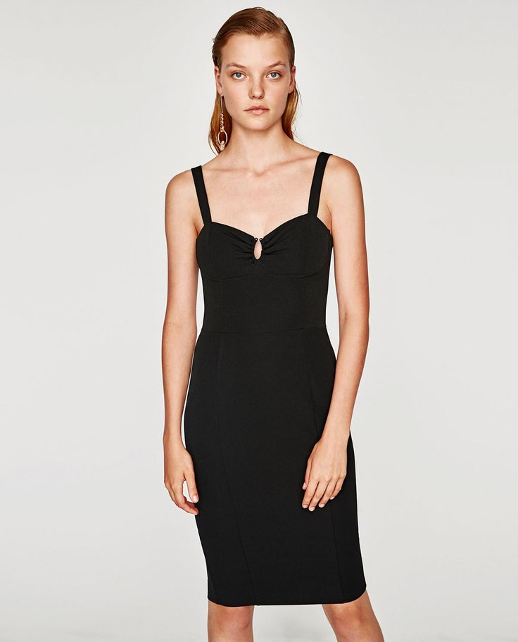 Image 1 of STRAPPY DRESS from Zara