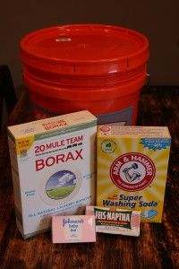 Duggar's Laundry Soap recipe~  Makes 10 gallons of laundry soap: