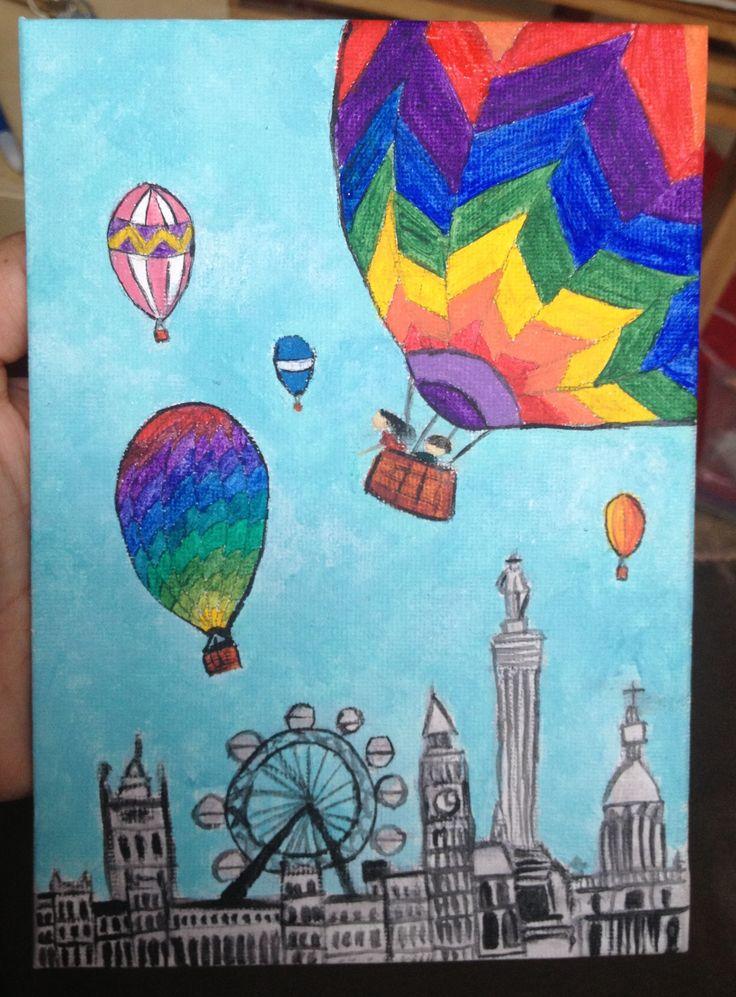 Air Balloon The London And Hot Air Balloon On Pinterest