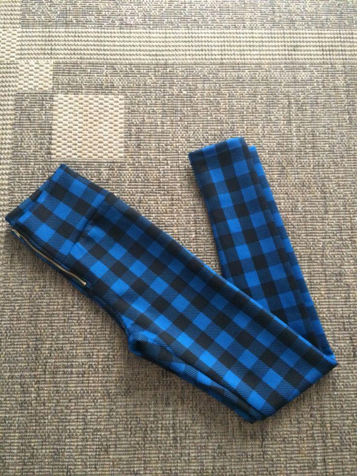 Pantalón cuadrillé • detalle cierre #moda #diseño #buenosaires #etnico #otoño #invierno #tromü