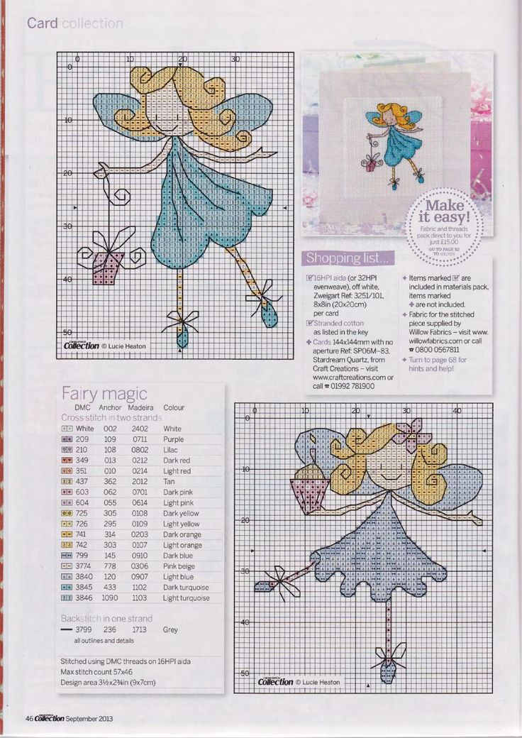 Cross stitch collection 226 by Bianca Vdh - issuu