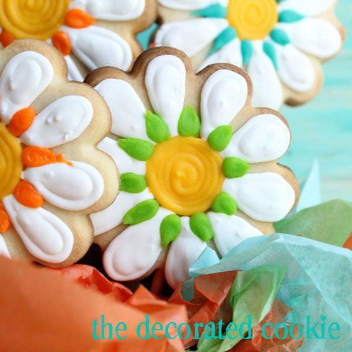 Cookie Arrangement: includes recipes for cookies & decorating icing