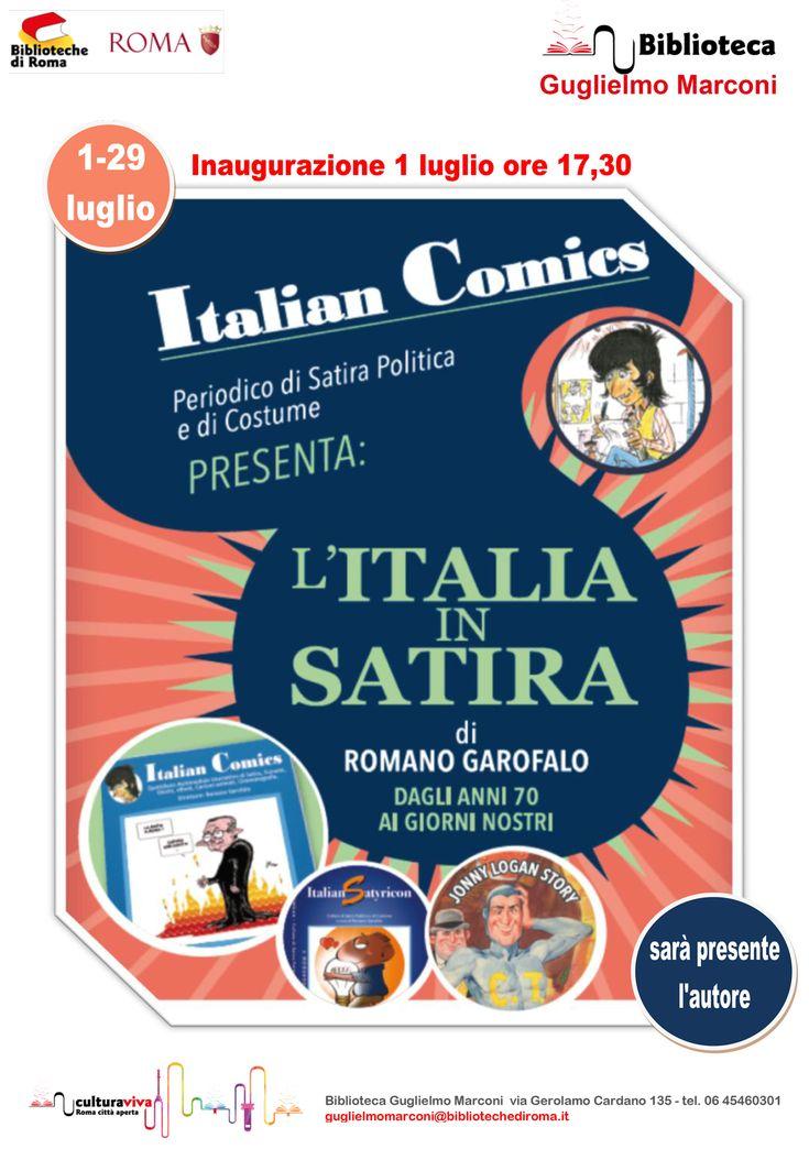 Roma_Satira #IoSeguoItalianComics #Satira #Humor #Comics #Politica #Italy #Rome #July #Event #Roma
