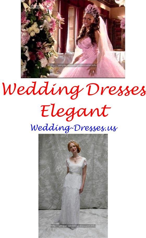 funky wedding dresses bohemian - Ivory wedding gowns illusion neckline.rustic wedding wear 3256150238